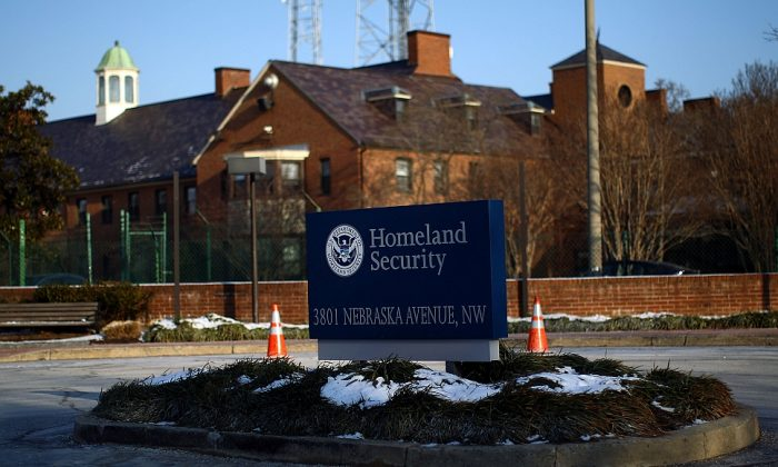 The Department of Homeland Security main complex in Washington, D.C., on Jan. 8, 2010. (Win McNamee/Getty Images)