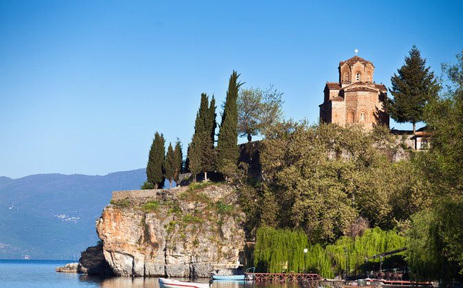 Lake Ohrid, Macedonia via Shutterstock*