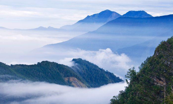 Taiwan's Yushan National Park via Shutterstock*