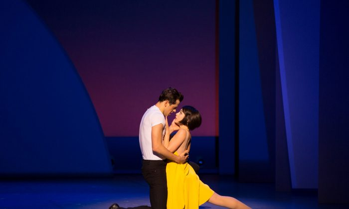 "Robert Fairchild and Leanne Cope play the American and Parisian respectively in the Broadway production of ""An American in Paris."" (Angela Sterling)"