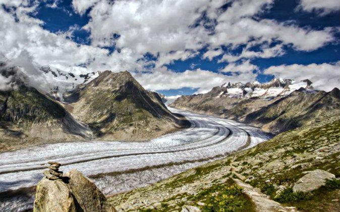 Aletsch Glacier from Belalp (Simon Falvo)