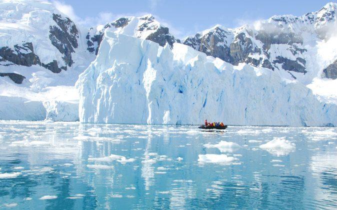 Iceberg off coast of Antarctica via Shutterstock*