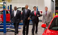Obama Promotes Auto Industry Bailout as a Policy That Worked
