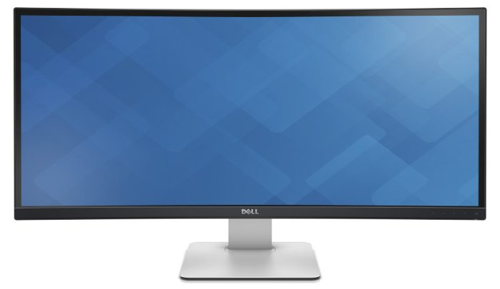 Dell U3415W UltraSharp 34-inch curved monitor. (Dell)