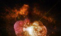 NASA Observatories Take an Unprecedented Look Into Superstar Eta Carinae