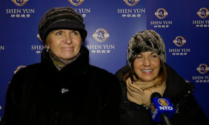 Shen Yun an Annual Tradition for Cosmetics VPs