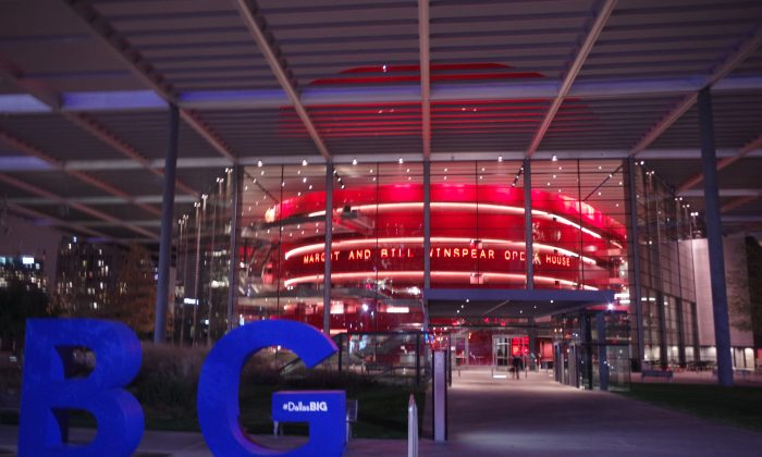 AT&T Performing Arts Center - Winspear Opera House. (Courtesy of NTD Television)