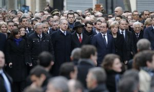World Leaders Head Paris March to Honor Terror Victims