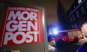 Arsonists Attack German Paper That Published French Cartoons