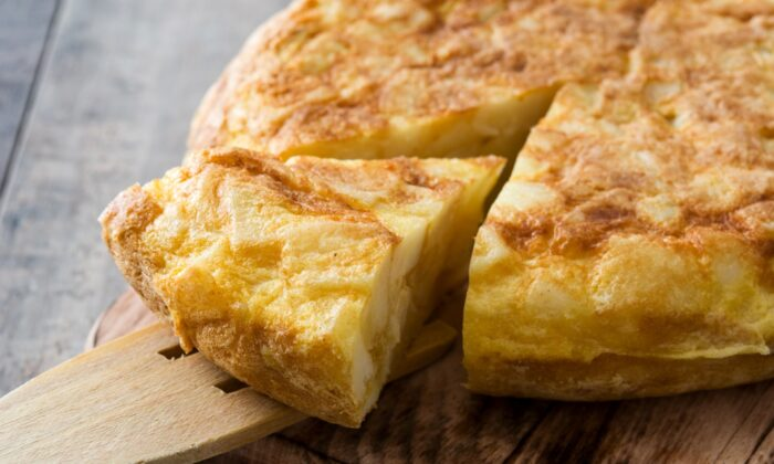 Potatoes and eggs are the humble beginnings of a Spanish tortilla. (Etorres/Shutterstock)