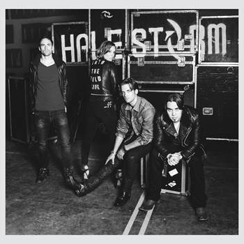 Halestorm Announces 'Into The Wild Life.' Photo Provided by Atlantic Records