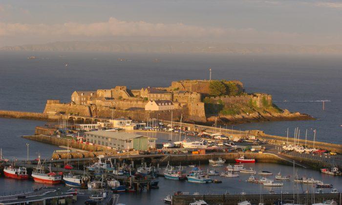 Guernsey Harbor & Castle via Shutterstock*
