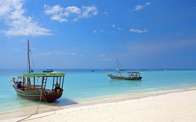 Zanzibar beach in Tanzania via Shutterstock*