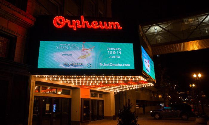 Orpheum Theater, Omaha.  (Hu Chen/Epoch Times)