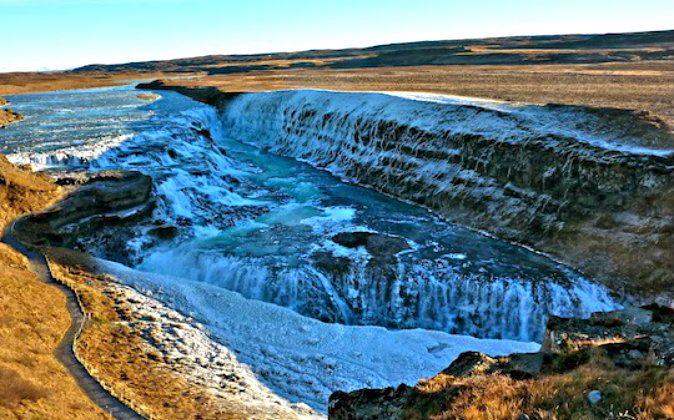 Gulfoss waterfall (Freya Renders, Holiday Nomad)