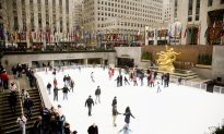 New Year's Fun at The Rink at Rockefeller Center
