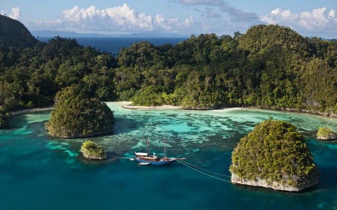 Raja Ampat, Indonesia via Shutterstock*
