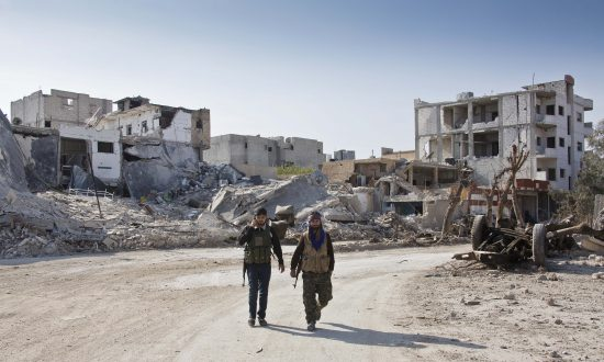 Islamic State Group Losing Ground in Symbolic Kobani Battle