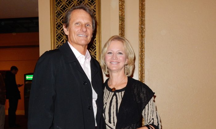 Robert and Jeannie Dudzinski enjoyed their evening Orpheum Theater on Jan. 14 soaking in the beauty of Shen Yun Performing Arts. (Stacey Chen/Epoch Times)