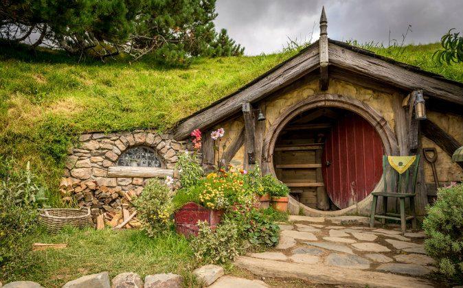 Hobbiton, Shire, New Zealand via Shutterstock*