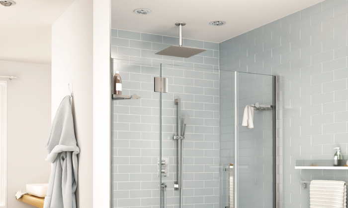 A bathroom designed for today that can be easily updated for future lifestyle changes.(Fleurco)