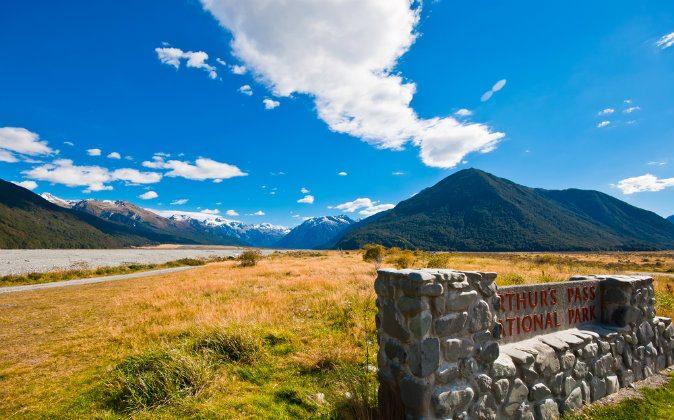 Arthur's Pass National Park New Zealand via Shutterstock*
