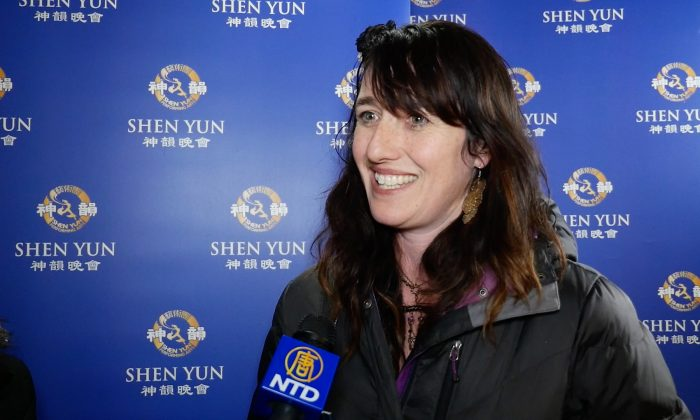 Artist Inspired by Heavenly Costumes of Shen Yun