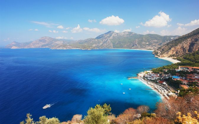 Coast in Oludeniz, Turkey via Shutterstock*