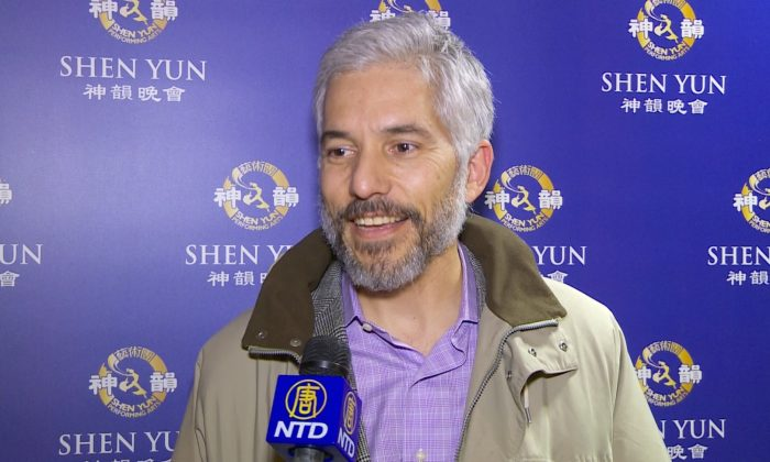 Music Producer Says Shen Yun Is a Show That 'Everybody Should See'