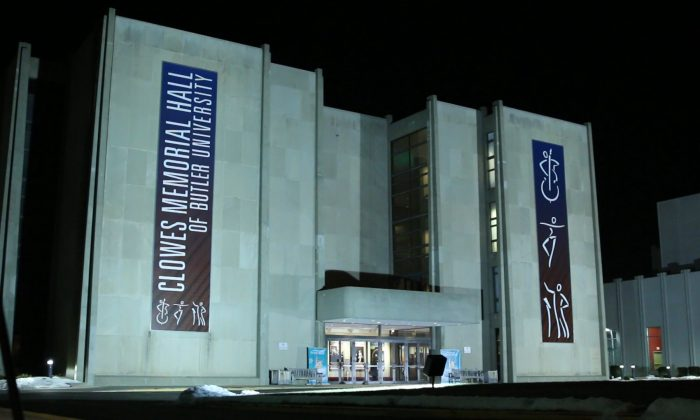 Indianapolis' Clowes Memorial Hall of Butler University (Courtesy of NTD Television)