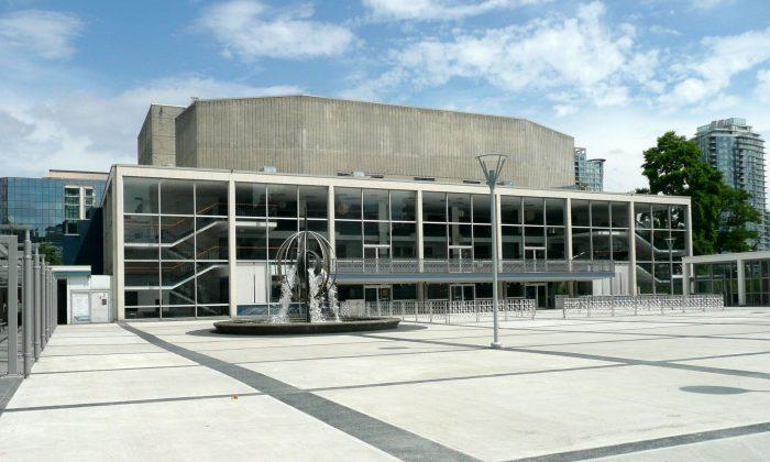 Queen Elizabeth Theatre in Vancouver (Vancouver Civic Theatres)