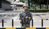 Chinese Army Holds Anti-Riot Drill Near Hong Kong