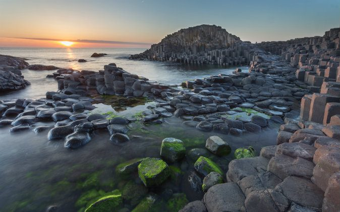 Giant's Causeway, Antrim, Northern Ireland via Shutterstock*