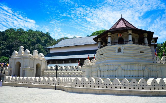 Temple of the Tooth, Kandy, Sri Lanka via Shutterstock*