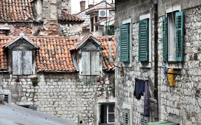Old Town in Split, Dalmatia via Shutterstock*