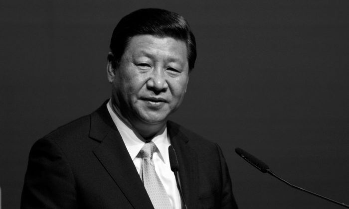 "China's President Xi Jinping speaks during the Malaysia-China Economic Summit in Kuala Lumpur on Oct. 4, 2013. Xi said there would be no ""iron-cap prince"" in the fight against corruption, a remark that was interpreted to be taking a swipe against former political leaders. (Mohd Rasfan/AFP/Getty Images)"