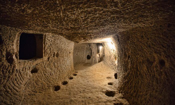 Derinkuyu underground city in Turkey. (Shutterstock*)