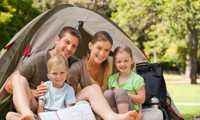 Family camping via Shutterstock*