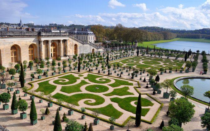 Versailles in Paris, France via Shutterstock*