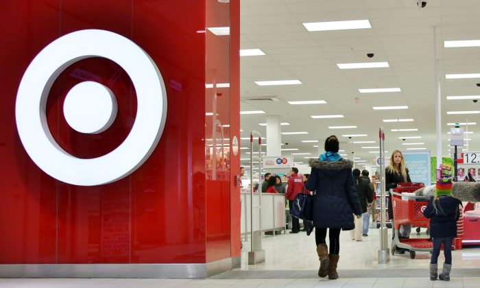 Shoppers enter a Target store in Toronto on Jan. 15, 2015. Target's employees face a difficult future in a retail environment that is entering a slow period. (The Canadian Press/Colin Perkel)