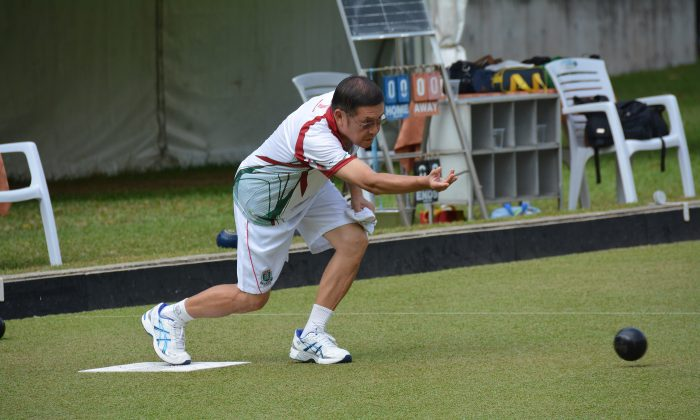 Hong Kong team coach Danny Ho is looking forward to his first major trophy at the final of the National Triples this Sunday, Jan 25, 2015. His last honour was achieved at the National Indoor Singles back in 2010. (Stephanie Worth)