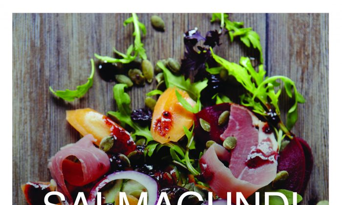 "Salmagundi: A Celebration of Salads From Around the World"" by Sally Butcher."