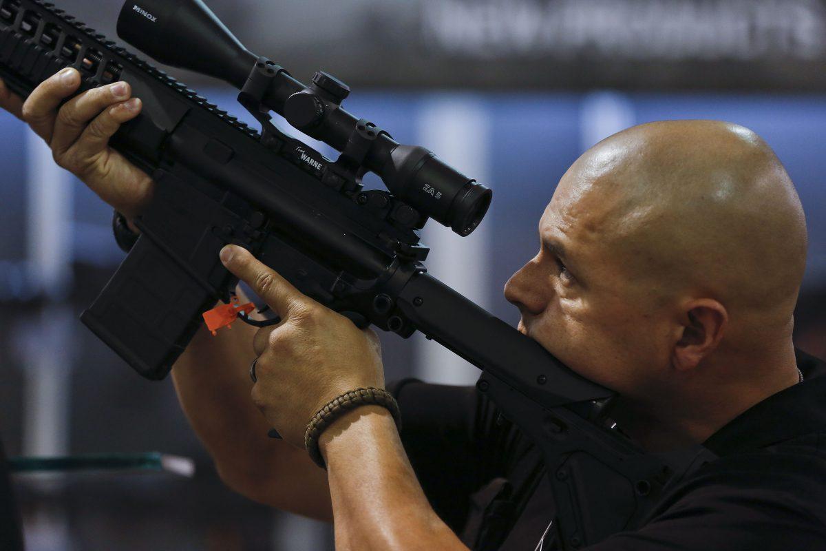 gun target exercise