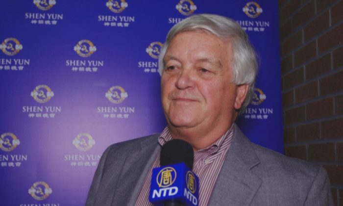 Don Dymer was impressed with Shen Yun Performing Arts at the Lazzara Performance Hall, Jacksonville, on Jan. 24, 2015. (Courtesy of NTD Television)