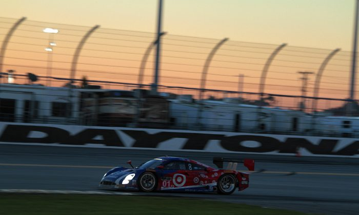The Ganassi cars swapped the lead just before the 15th caution of the Tudor Championship Rolex 24, 18 hours into the race. (Chris Jasurek/Epoch times)