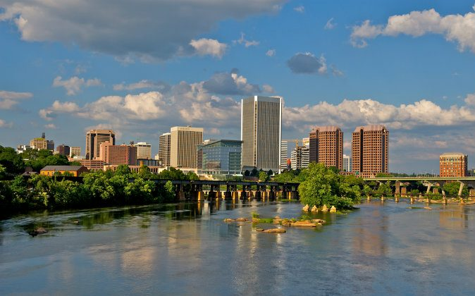 Cityscape of Richmond, Va. (Shutterstock)