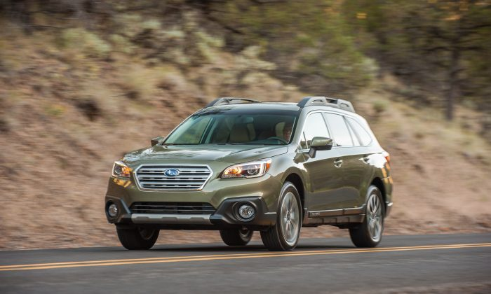 2015 Subaru Outback (Courtesy of Subaru)