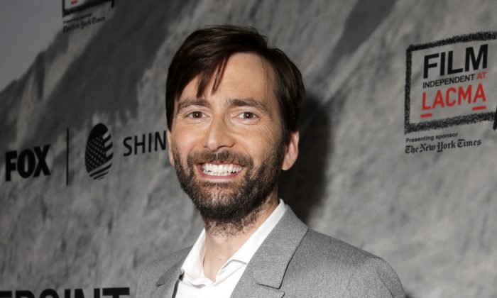 Actor David Tennant in Los Angeles on Sept. 24, 2014. Tennant will play villain The Purple Man in the 2015 Netflix series Marvel's A.K.A. Jessica Jones. (AP Photo/Todd Williamson/Invision/AP)