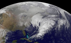 NASA Photo Shows NYC Snowstorm from Space