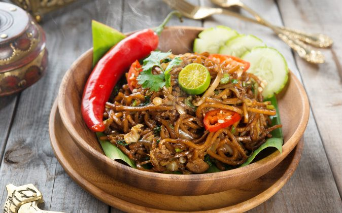 Mi goreng or mee goreng mamak, Indonesian and Malaysian cuisine via Shutterstock*